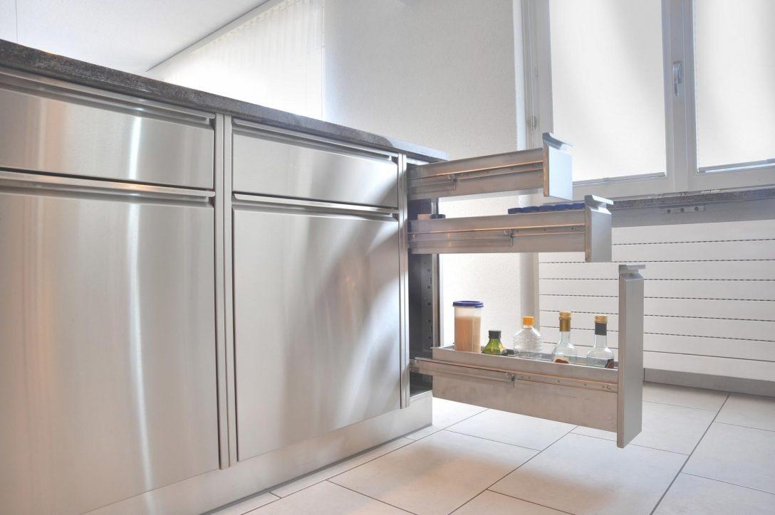 Full Size of Edelstahl Küche Kche Kosten Ikea Drauen Einbaukche Edelstahlkche Bodenfliesen Bodenbelag Einbauküche Mit Elektrogeräten Tapete Miniküche Kühlschrank Wohnzimmer Edelstahl Küche