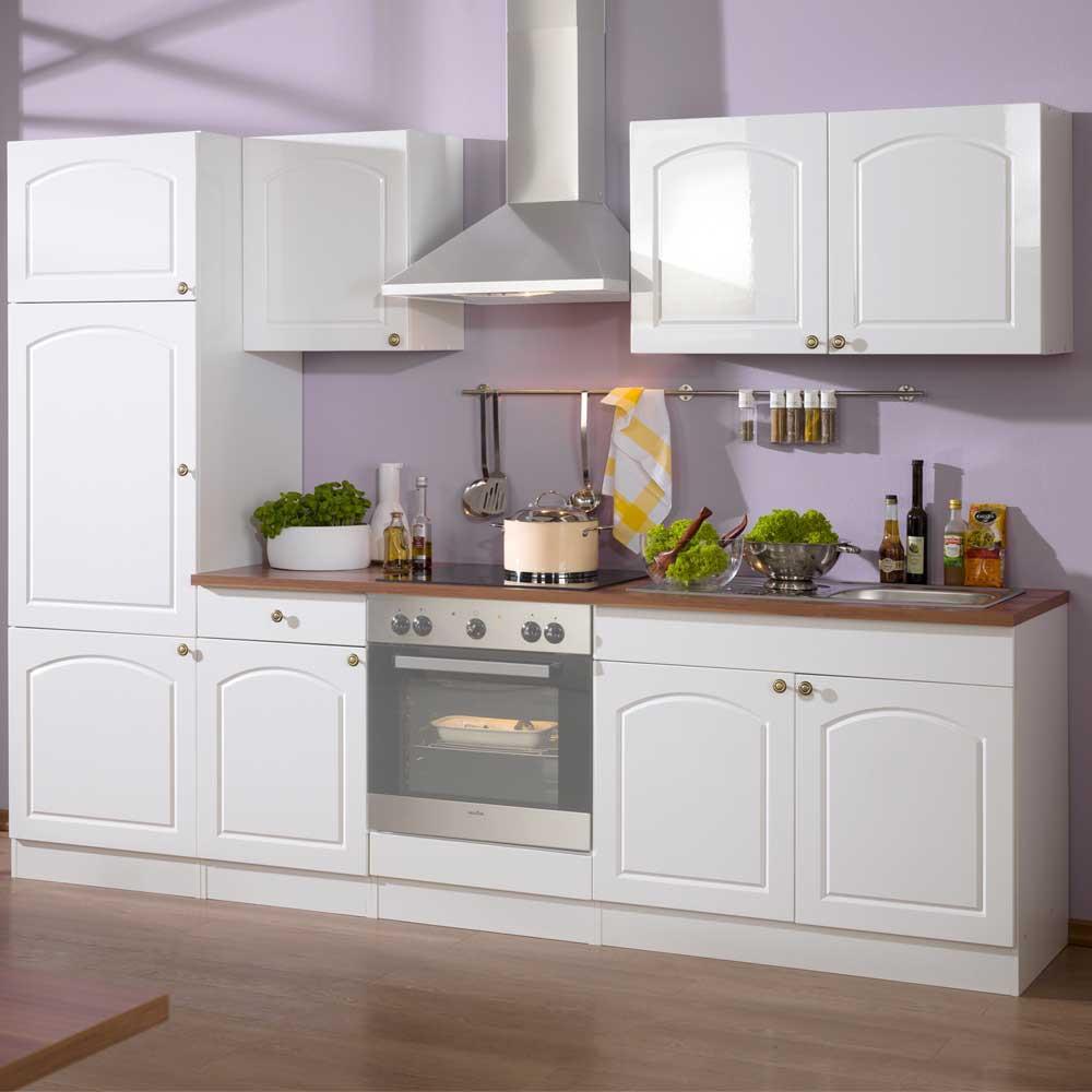 Full Size of Kchen Block Light In Wei Im Landhausstil Wohnende Küchen Regal Wohnzimmer Küchen