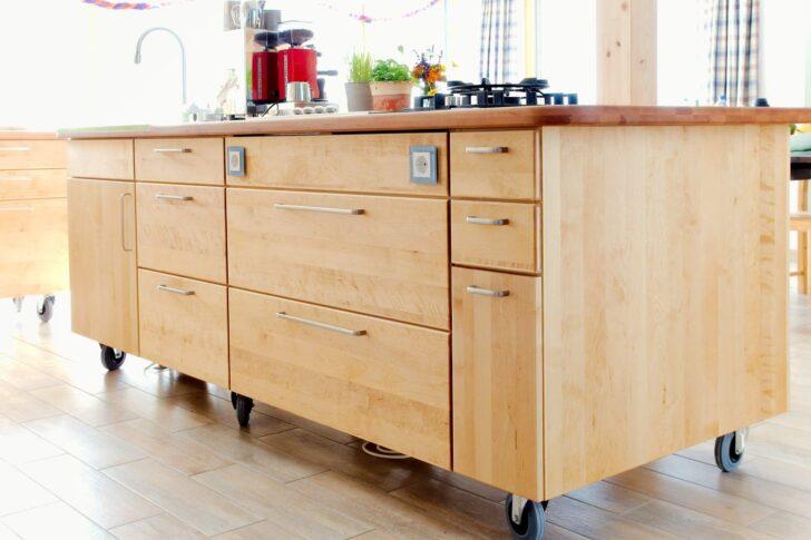 Medium Size of Kücheninsel Kcheninsel Massivholz Auf Rollen Pfister Mbelwerkstatt Wohnzimmer Kücheninsel