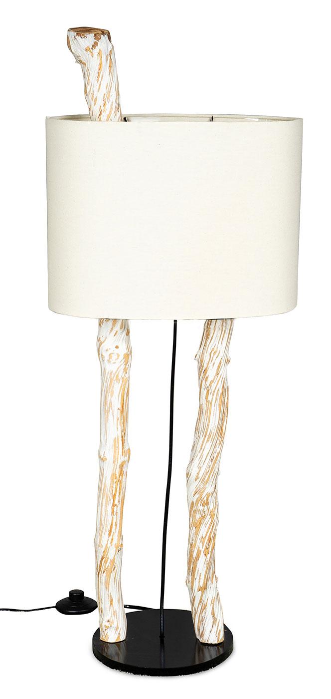 Full Size of Stehlampe Holz Hhe 95cm Treibholz Stehleuchte Lampe Teakholz Wei Esstisch Rustikal Holzhaus Kind Garten Spielhaus Massivholz Bett Ausziehbar Regal Weiß Wohnzimmer Stehlampe Holz