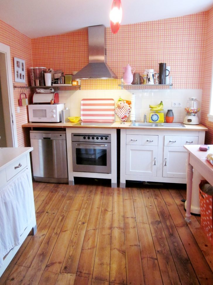 Medium Size of Küche Selbst Bauen Kche In Pink Leelah Loves Hängeschrank Glastüren Spüle Einrichten Landhausküche Gebraucht Vinyl Dusche Einbauen Magnettafel Rückwand Wohnzimmer Küche Selbst Bauen