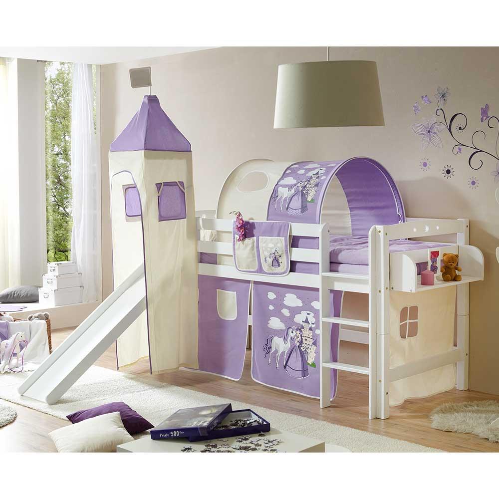 Full Size of Kinderzimmer Rutsche Hochbett In Wei Lila Mit Regal Taschen Regale Sofa Weiß Kinderzimmer Kinderzimmer Hochbett