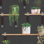 Regal Grün Vliestapete Pflanzen Schwarz Grn 36488 1 Küchen Soft Plus Bad Weiß Paschen Regale Massivholz Nussbaum Landhaus Für Kleidung Fnp String Dvd Regal Regal Grün