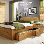 Stauraumbett 120x200 Wohnzimmer Stauraumbett 120x200 Bett Mit Schubladen Massivholz Natur Gelt Weiß Betten Bettkasten Matratze Und Lattenrost