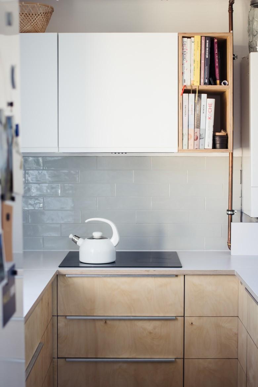 Full Size of Tapete Küche Modern Eiche Laminat In Der U Form Mit Theke Pantryküche Kühlschrank Armaturen Sideboard Erweitern Unterschrank Wandtattoos Oberschrank Wohnzimmer Küche Diy
