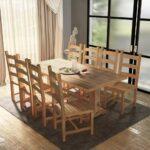 Esstisch Rund Mit Stühlen 9 Tlg Essgruppe Tisch Sthlen Teak Gitoparts Big Sofa Hocker Küche E Geräten Günstig Kleiner Bettfunktion Wildeiche Bett Esstische Esstisch Rund Mit Stühlen