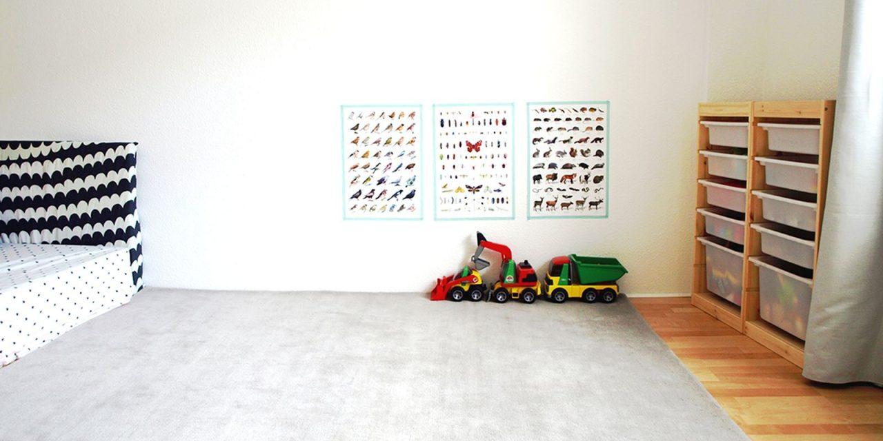 Full Size of Michels Kinderzimmer Mit 24 Monaten Montessori Blog Sofa Regale Regal Weiß Kinderzimmer Sprossenwand Kinderzimmer
