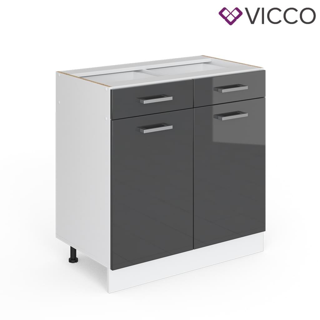 Full Size of Vicco Schubunterschrank 80 Cm Ohne Arbeitsplatte Real Wohnzimmer Küchenunterschrank