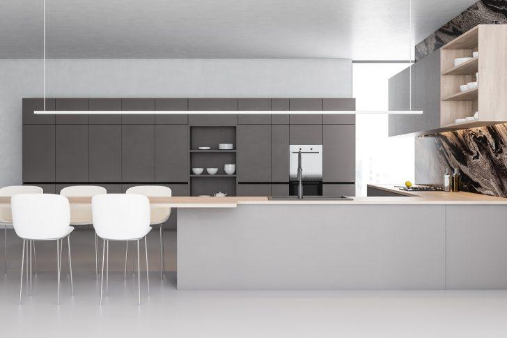Medium Size of Graue Kchen Kchendesignmagazin Lassen Sie Sich Inspirieren Beistelltisch Küche Singleküche Mit Kühlschrank Led Beleuchtung Umziehen Wandregal Landhaus Wohnzimmer Küche