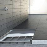 Begehbare Dusche Fliesen Bodengleiche Einbauen Einbautiefe Badewanne Mit Tür Und Bluetooth Lautsprecher Bodenfliesen Küche Walk In Hüppe Duschen Fürs Bad Dusche Begehbare Dusche Fliesen