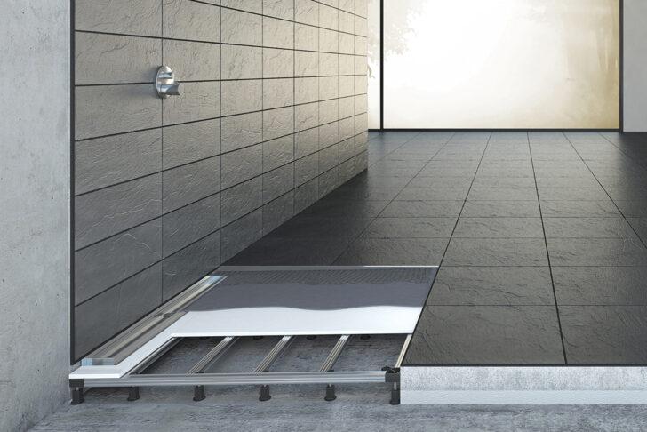 Medium Size of Begehbare Dusche Fliesen Bodengleiche Einbauen Einbautiefe Badewanne Mit Tür Und Bluetooth Lautsprecher Bodenfliesen Küche Walk In Hüppe Duschen Fürs Bad Dusche Begehbare Dusche Fliesen