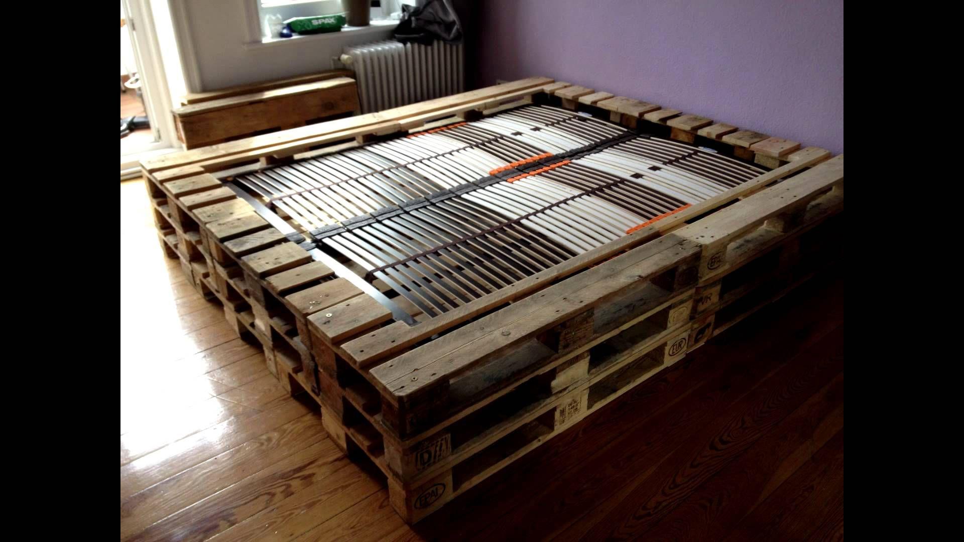 Full Size of Doppelbett Aus Europaletten Bett Paletten Hoch Eiche Massiv 180x200 Tojo V 1 40 Betten überlänge Komplett Mit Lattenrost Und Matratze 140x220 Somnus Ebay Wohnzimmer Bett Paletten