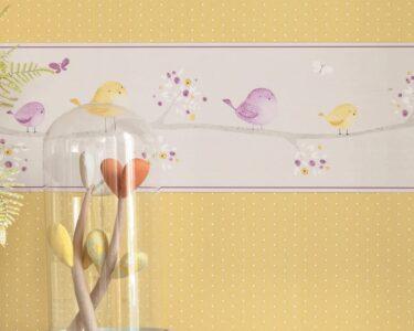 Bordüren Kinderzimmer Kinderzimmer Bordüren Kinderzimmer Kreative Wandgestaltung Mit Bordren Regale Regal Sofa Weiß