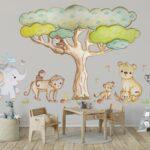 Es Ist Ein Wandtattoo Aus Einem Polyestergewebe Pvc Frei Mit Regal Kinderzimmer Weiß Sofa Wandtatoo Küche Regale Kinderzimmer Wandtatoo Kinderzimmer