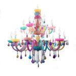 Kronleuchter Kinderzimmer Kinderzimmer Kronleuchter Kristall Bunt Kerzen Design Fr Regale Regal Weiß Sofa