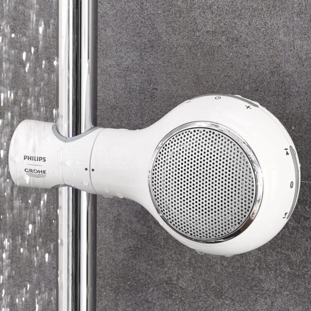 Large Size of Der Aquatunes Bluetooth Lautsprecher Fr Dusche Begehbare Ohne Tür Nischentür Bodengleich Walkin Bodengleiche Duschen Eckeinstieg Fliesen Für Unterputz Dusche Bluetooth Lautsprecher Dusche