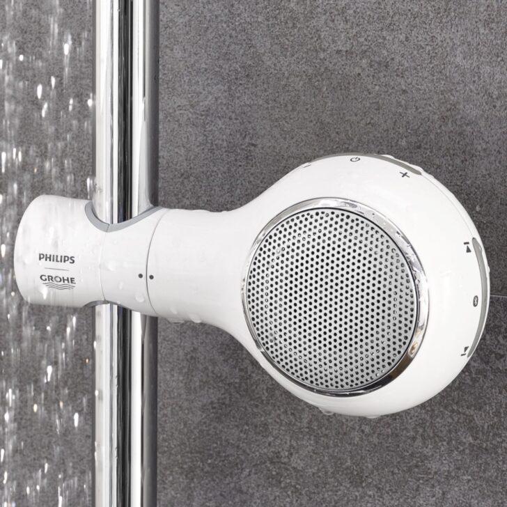 Medium Size of Der Aquatunes Bluetooth Lautsprecher Fr Dusche Begehbare Ohne Tür Nischentür Bodengleich Walkin Bodengleiche Duschen Eckeinstieg Fliesen Für Unterputz Dusche Bluetooth Lautsprecher Dusche