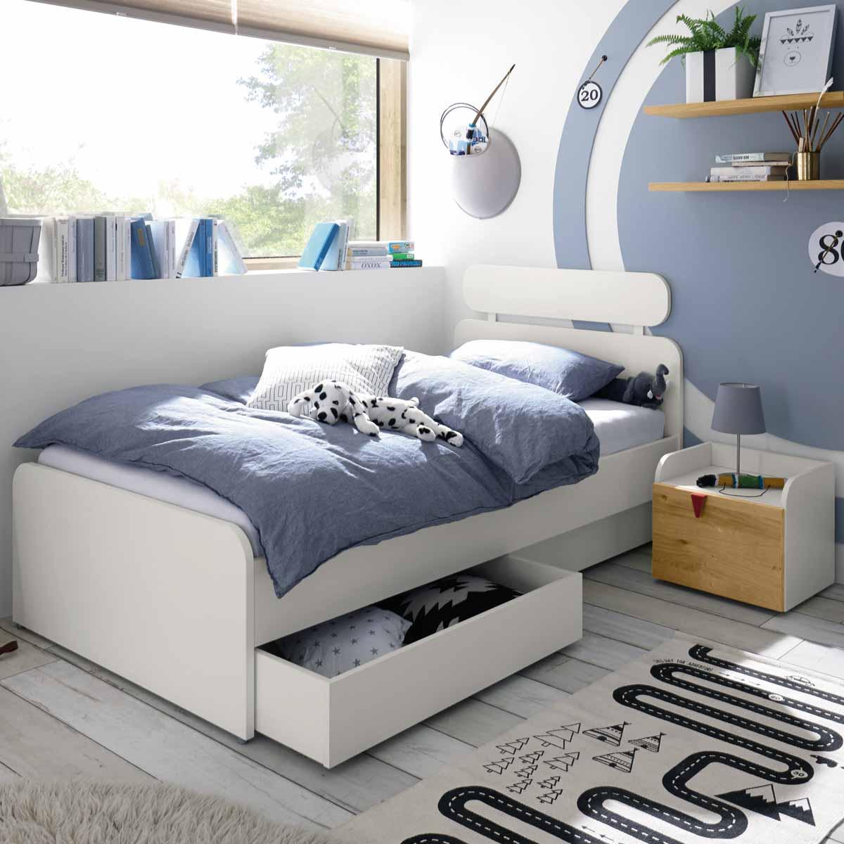 Full Size of Hlsta Now Minimo Bett 120x200 Cm Schneewei Toppreis Betten Weiß Mit Matratze Und Lattenrost Bettkasten Wohnzimmer Kinderbett 120x200
