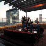 Terrassen Lounge Wohnzimmer Terrassen Lounge Pan Am Berlin Rooftop Terrasse Loungemöbel Garten Holz Set Möbel Günstig Sessel Sofa