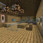 Minecraft Küche Wohnzimmer Minecraft Küche Esszimmer Mit Integrierter Kche In Bauen Arbeitstisch Schreinerküche Insel Mischbatterie Servierwagen Inselküche Theke Single Niederdruck