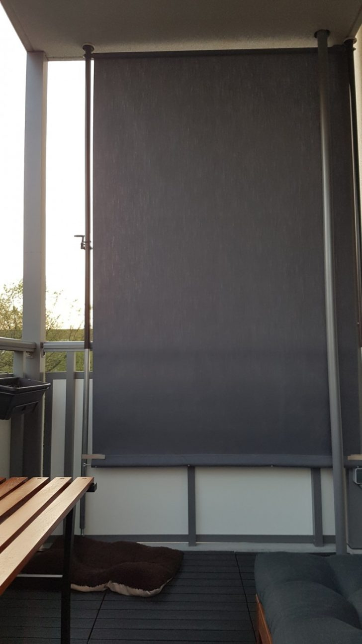 Medium Size of Paravent Balkon Sichtschutz Design Style Anthrazit Uni Garten Wohnzimmer Paravent Balkon