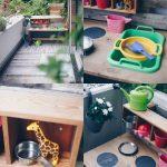 Paletten Küche Wohnzimmer Diy Matschkche Aus Altem Tisch Bauen Upcycling Idee Anrichte Küche Modul Günstig Mit Elektrogeräten Planen Arbeitsplatte Billig Kaufen Barhocker Miniküche