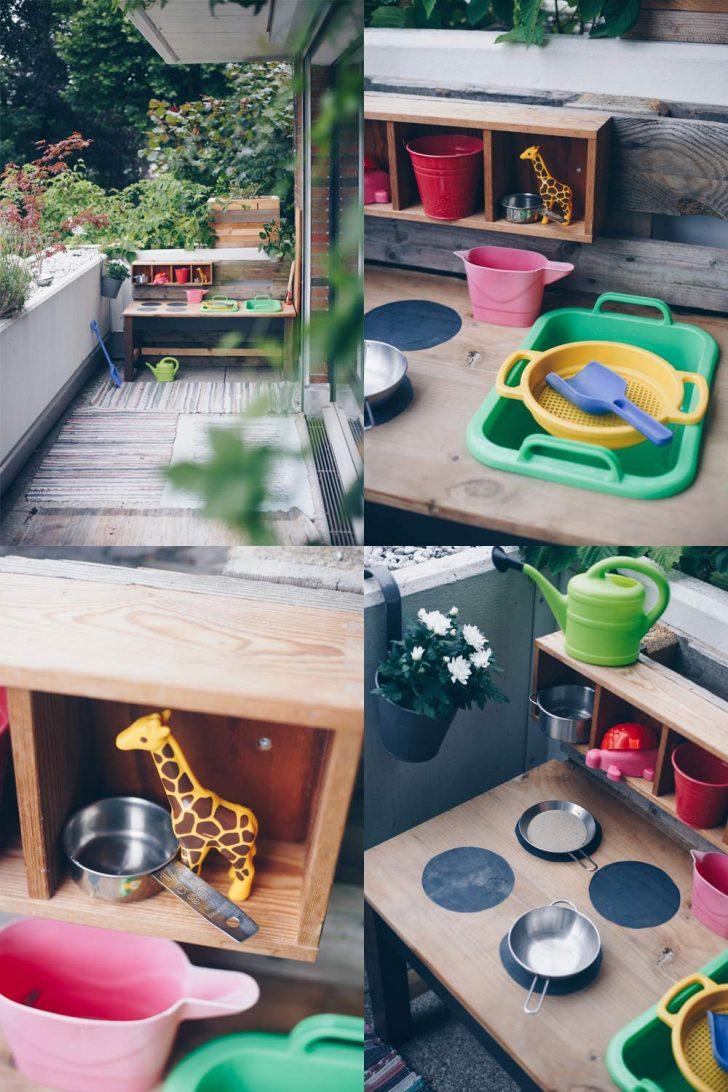 Medium Size of Diy Matschkche Aus Altem Tisch Bauen Upcycling Idee Anrichte Küche Modul Günstig Mit Elektrogeräten Planen Arbeitsplatte Billig Kaufen Barhocker Miniküche Wohnzimmer Paletten Küche