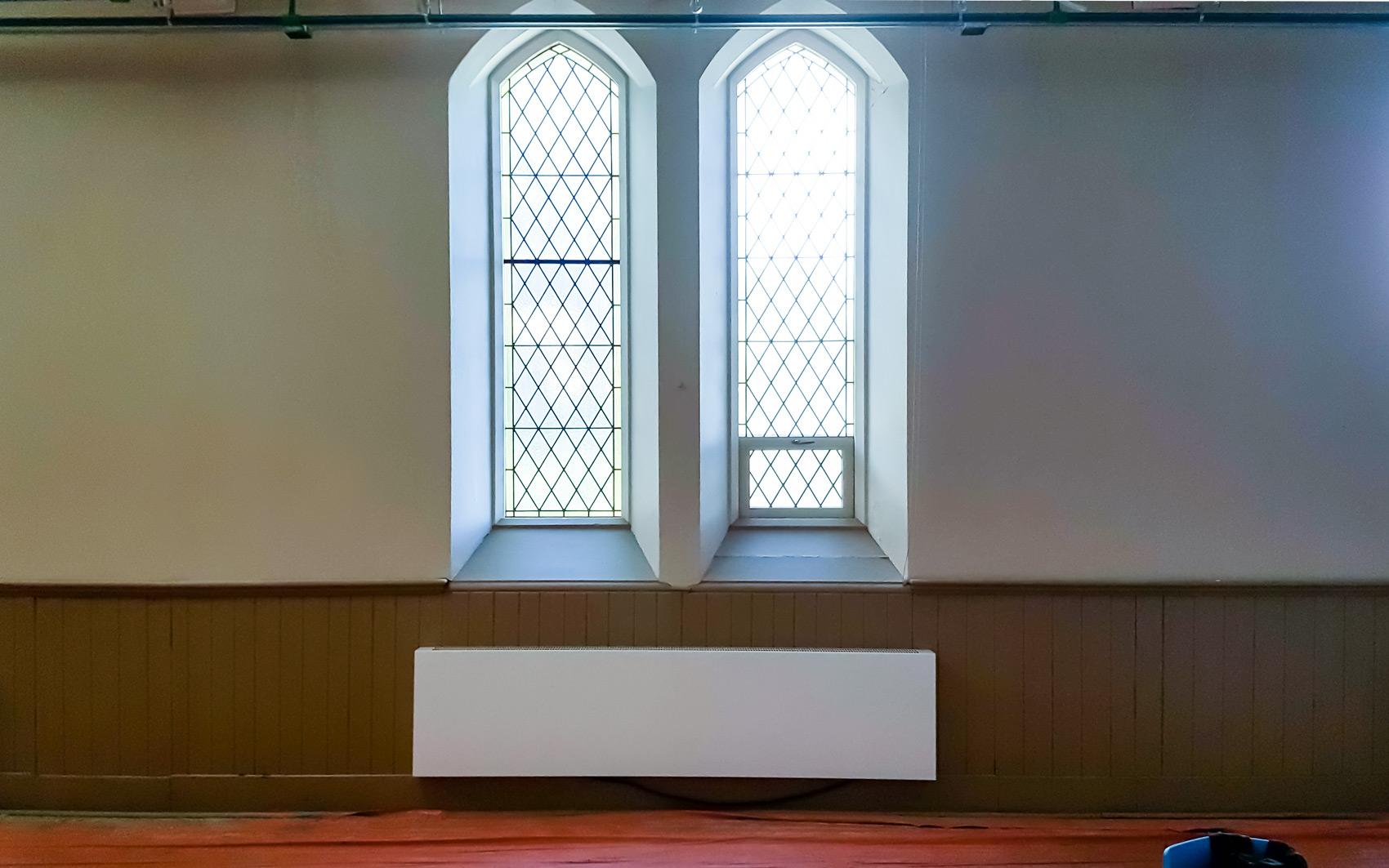 Full Size of Wandheizkörper Wandheizkrper In Der Kirche St George Guelph Kanada Wohnzimmer Wandheizkörper