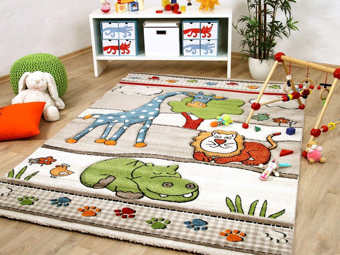 Large Size of Teppiche Kinderzimmer Teppich Savona Kids Lustige Zoowelt Beige Kinder Wohnzimmer Regal Weiß Regale Sofa Kinderzimmer Teppiche Kinderzimmer