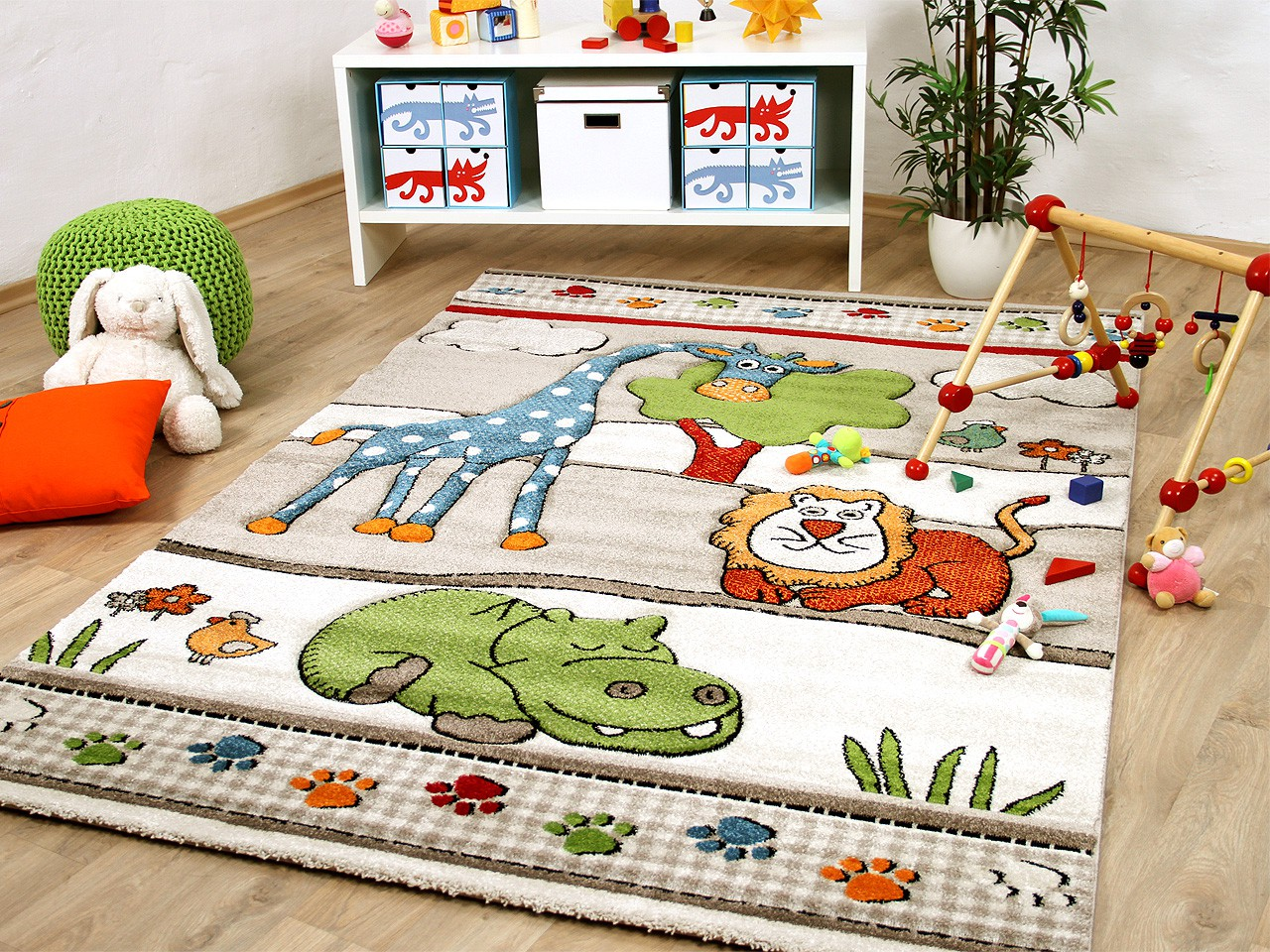 Full Size of Teppiche Kinderzimmer Teppich Savona Kids Lustige Zoowelt Beige Kinder Wohnzimmer Regal Weiß Regale Sofa Kinderzimmer Teppiche Kinderzimmer