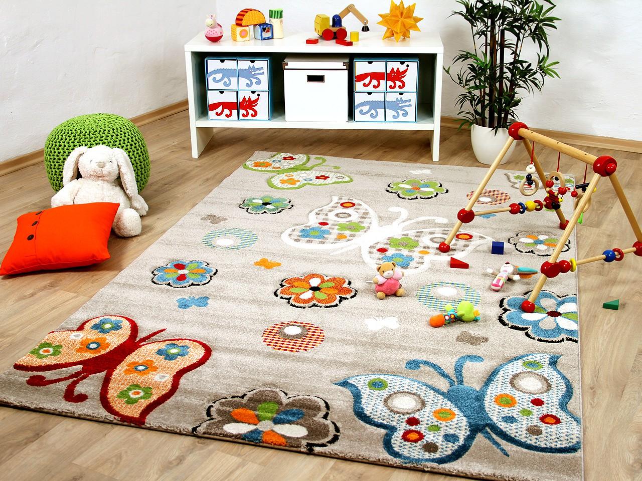 Full Size of Teppich Savona Kids Beige Schmetterlinge Bunt Teppiche Regale Kinderzimmer Regal Sofa Wohnzimmer Weiß Kinderzimmer Teppiche Kinderzimmer
