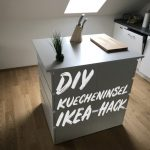 Ikea Kücheninsel Diy Kcheninsel Selber Bauen Hack Sofa Mit Schlaffunktion Küche Kaufen Miniküche Kosten Betten Bei 160x200 Modulküche Wohnzimmer Ikea Kücheninsel
