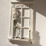 Fensterbank Dekorieren Wohnzimmer Fensterbank Dekorieren Fenster Mit Im Antik Finish H 93 Cm Annastore