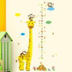 Messlatte Kinderzimmer Wandtatto Wandaufkleber Set Giraffe Regal Weiß Regale Sofa Kinderzimmer Messlatte Kinderzimmer