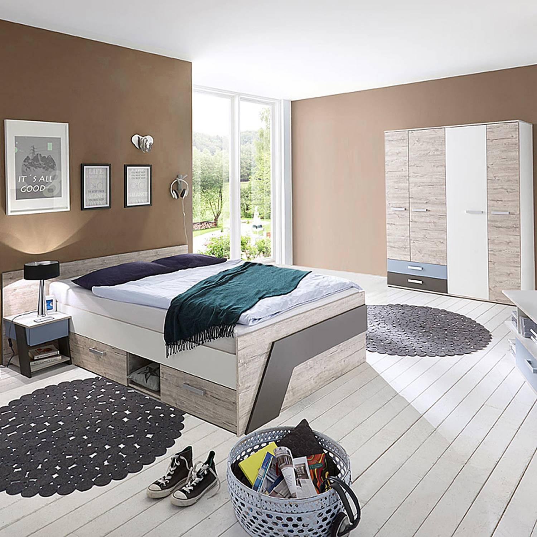 Full Size of Kinderzimmer Jungen Set Mit Bett 140x200 Cm Fr In Sandeiche Nb W Regal Weiß Sofa Regale Kinderzimmer Kinderzimmer Jungen