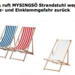 Liegestuhl Ikea Strandstuhl Wegen Verletzungsgefahr Zurckgerufen Welt Betten 160x200 Miniküche Modulküche Garten Küche Kaufen Bei Kosten Sofa Mit Wohnzimmer Liegestuhl Ikea