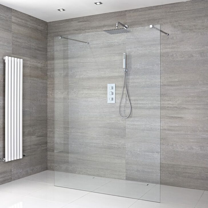 Begehbare Dusche Walk In Thermostat Wand Einhebelmischer Kleine Mit Ebenerdig 80x80 Duschen Unterputz Armatur Schulte Glastrennwand Barrierefreie 90x90 Dusche Begehbare Dusche