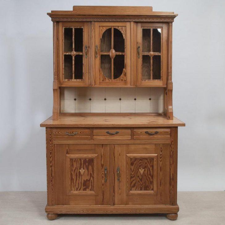 Medium Size of Kchenanrichte Mit Aufsatz Um 1910 Kiefer Gewachst Wohnzimmer Küchenanrichte