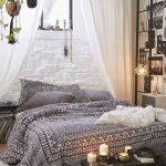 Schlafzimmer Gestalten Bohemian Style Fr Ein Romantisches In Wei 49 Günstig Set Gardinen Sessel Komplett Mit Lattenrost Und Matratze Lampen Teppich Wohnzimmer Schlafzimmer Gestalten