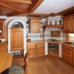 Holzküchen Urige Holzkche Massives Fichtenholz Wohnzimmer Holzküchen