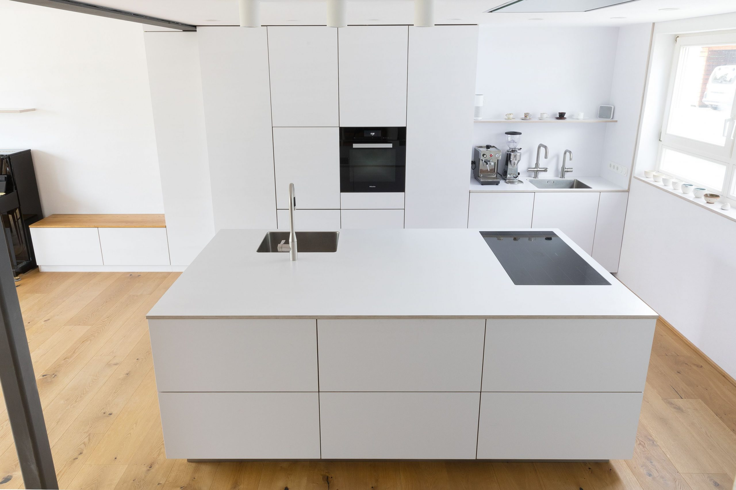 Full Size of Küchenideen Weie Kche Designerkche Loftkche Loft Sitzecke Wohnzimmer Küchenideen