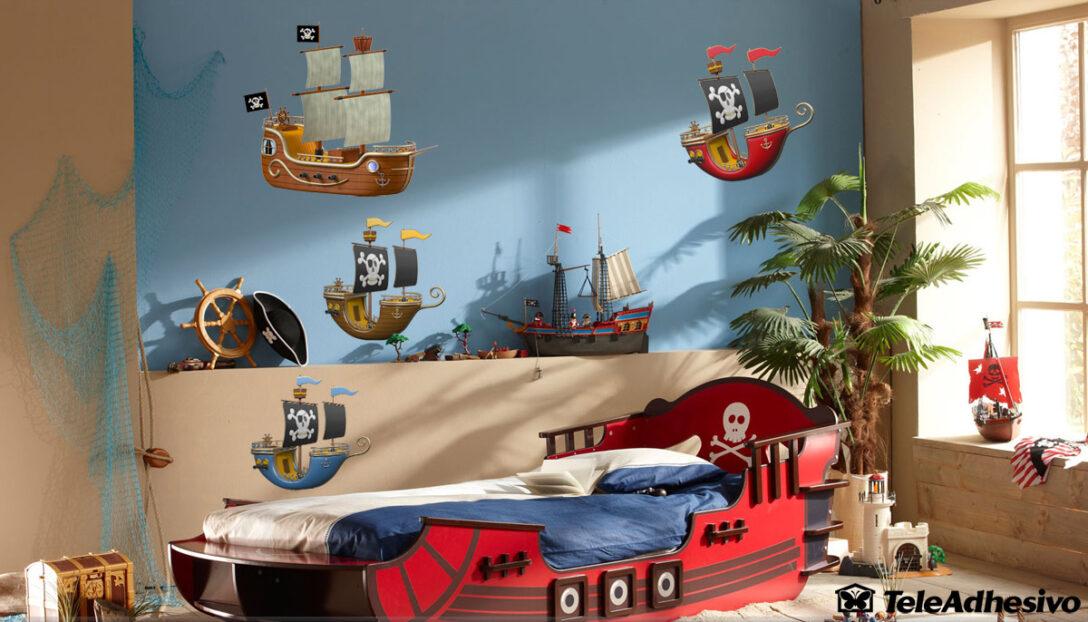 Large Size of Kinderzimmer Wandtattoo Blau Piraten Schiff Regal Sofa Weiß Regale Kinderzimmer Piraten Kinderzimmer