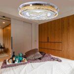 Waineg Moderne Luxus Atmosphre Runde Led Deckenleuchte Wohnzimmer Deckenlampen Modern Landhausstil Schrank Decken Gardinen Für Hängelampe Deckenlampe Wohnzimmer Lampen Wohnzimmer