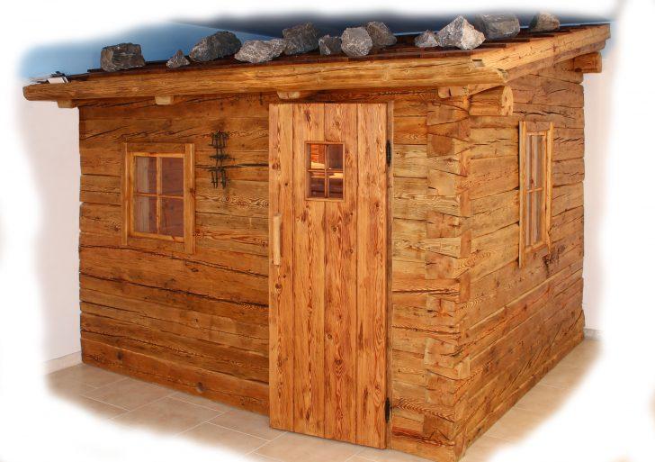 Medium Size of Sauna Selber Bauen Blockhaussauna Rustikale Altholz Almhtten Boxspring Bett Dusche Einbauen 180x200 Neue Fenster Bodengleiche Regale Einbauküche Im Badezimmer Wohnzimmer Sauna Selber Bauen