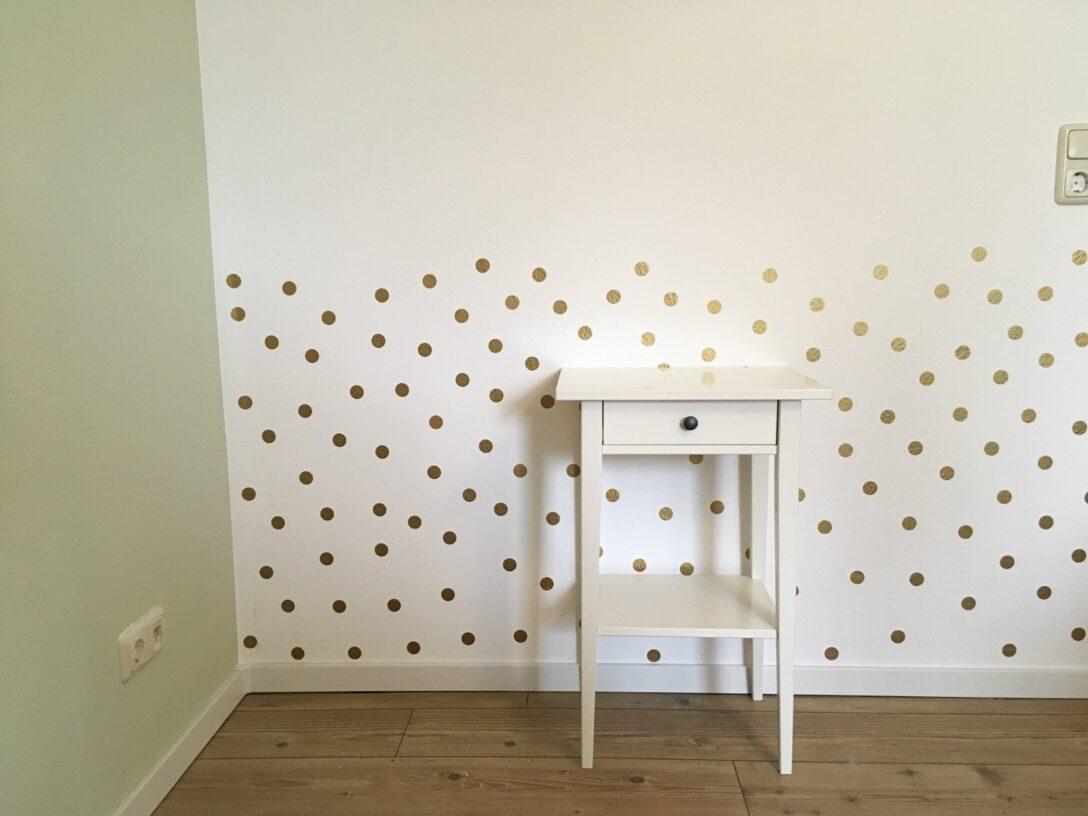 Large Size of Kinderzimmer Wanddeko Wandaufkleber Wandtattoo Punkte Gold Deko Online Küche Regal Weiß Sofa Regale Kinderzimmer Kinderzimmer Wanddeko