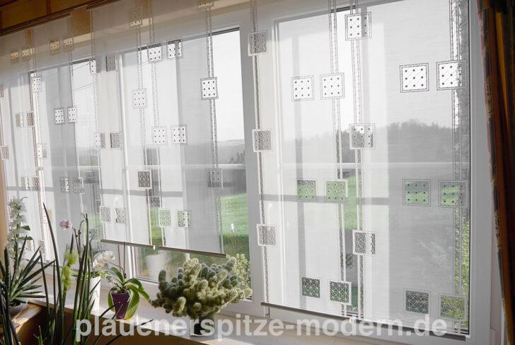 Medium Size of Moderne Gardinen Moderner Flchenvorhang Plauener Spitze Flchenvorhnge Kaufen Für Küche Schlafzimmer Modernes Bett Wohnzimmer Duschen Die Deckenleuchte Sofa Wohnzimmer Moderne Gardinen