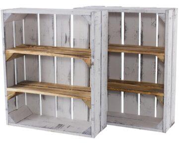 Kisten Regal Regal Kisten Regal Holzkisten Mit 3 Fchern 50x40x16cm Rot Weiß Hochglanz Schreibtisch Usm Haller Industrie Schubladen Weißes Hängeregal Küche Werkstatt Auf Maß