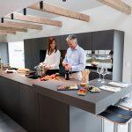Küchen Ideen Modern Kchenidee Eleganz Interpretiert Wohnzimmer Tapeten Deckenlampen Bilder Moderne Deckenleuchte Landhausküche Küche Weiss Modernes Bett Wohnzimmer Küchen Ideen Modern