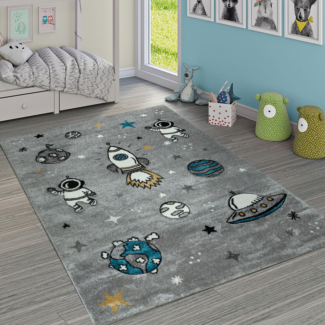 Large Size of Kinderzimmer Teppiche Teppich Rakete Weltall Astronaut Teppichde Regale Wohnzimmer Regal Weiß Sofa Kinderzimmer Kinderzimmer Teppiche