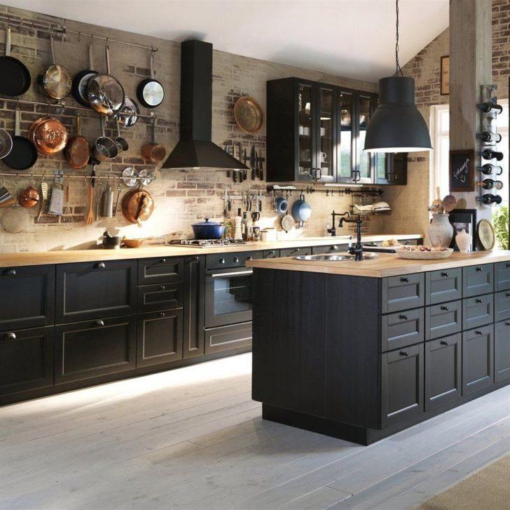 Medium Size of Ikea Küchen Little Black Kitchens Haus Kchen Modulküche Küche Kaufen Sofa Mit Schlaffunktion Betten 160x200 Regal Kosten Miniküche Bei Wohnzimmer Ikea Küchen